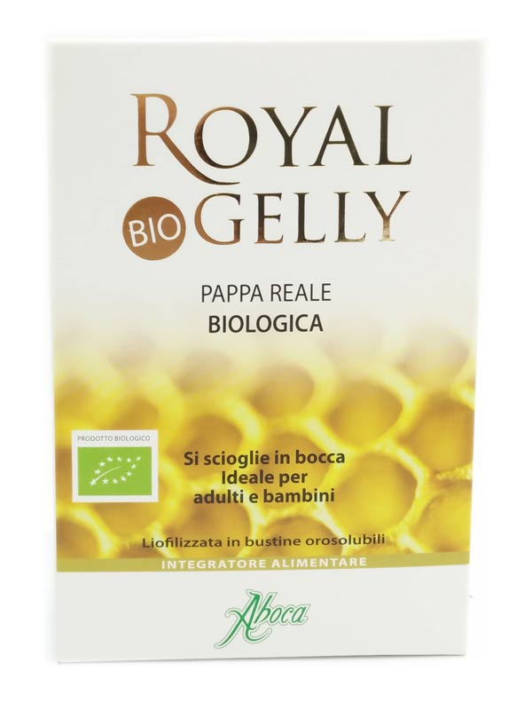 ABOCA ROYAL GELLY BIO 16 BUSTE