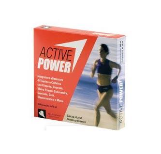 ACTIVE POWER INTEGRATORE ALIMENTARE ENERGETICO E TONIFICANTE - 10 FLACONCINI DA 10 ML