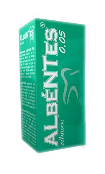 ALBENTES COLLUTORIO 0,05 PER CENTO - 200 ML