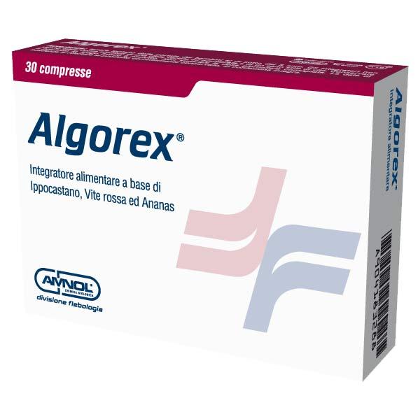 ALGOREX INTEGRATORE PER LA FUNZIONE MICROCIRCOLATORIA - 30 COMPRESSE