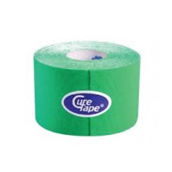 ANEID CURE TAPE CEROTTO PER TAPING - COLORE VERDE - 5 CM x 5 M