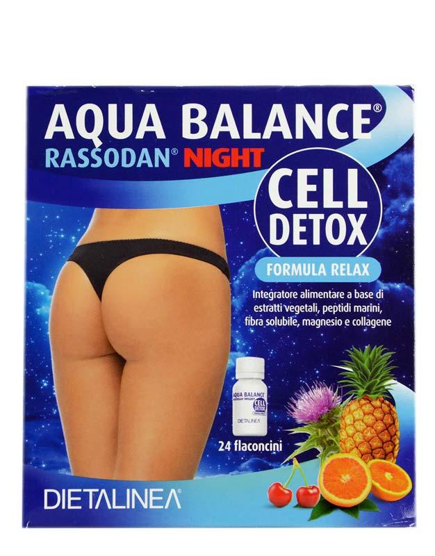 AQUA BALANCE RASSODAN NIGHT CELL DETOX 24 FLACONCINI DA 10 ML
