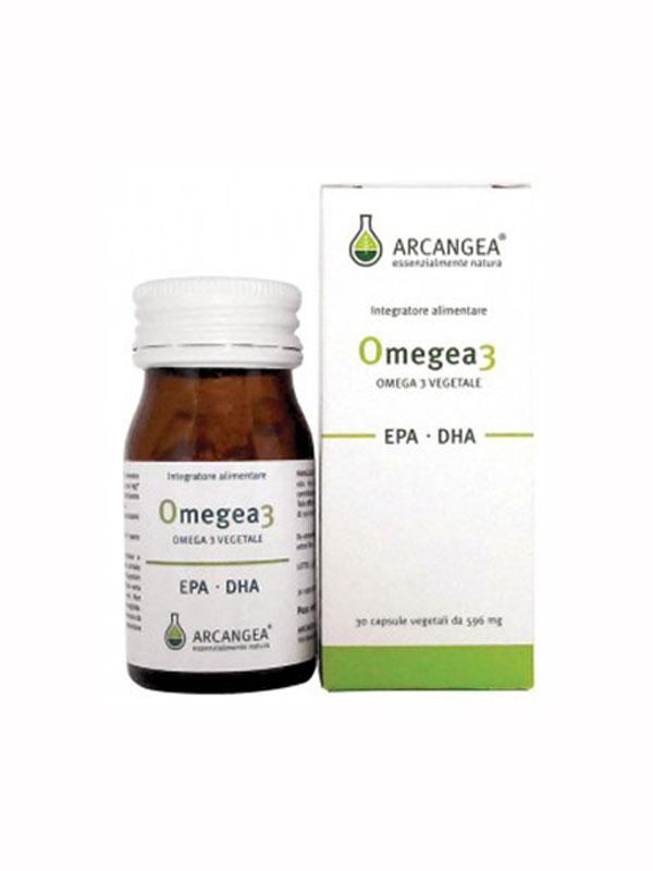 ARCANGEA OMEGEA3 INTEGRATORE ALIMENTARE 60 CAPSULE DA 596 MG