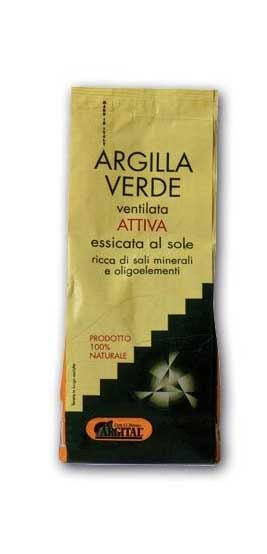 ARGITAL ARGILLA VERDE VENTILATA ATTIVA ESSICCATA AL SOLE - 500 G