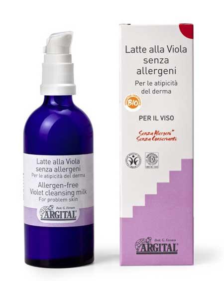 ARGITAL LATTE ALLA VIOLA SENZA ALLERGENI - 100 ML