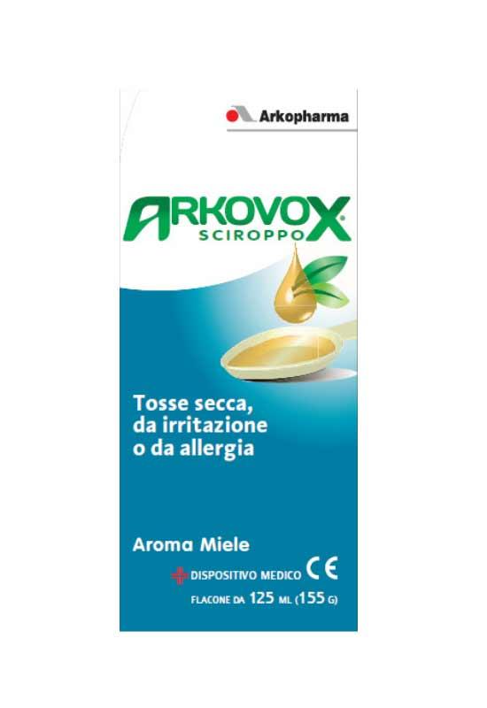 ARKOVOX SCIROPPO - PER ALLEVIARE LA TOSSE SECCA - 125 ML