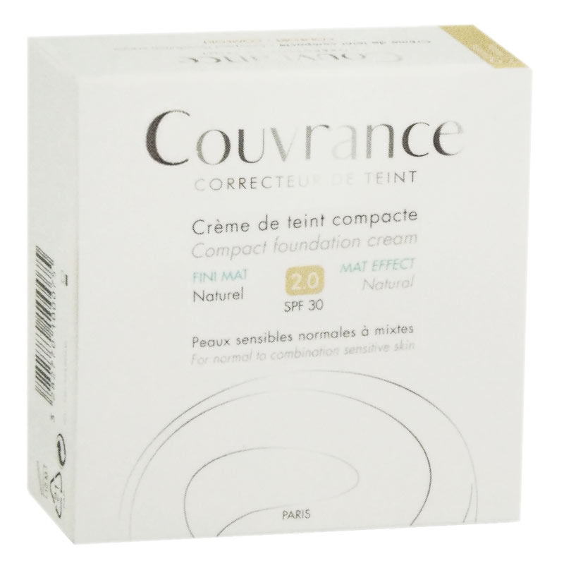 AVENE COUVRANCE CREMA COMPATTA COLORATA MAT EFFECT 2.0 SPF30 05 SOLE 9,5 G