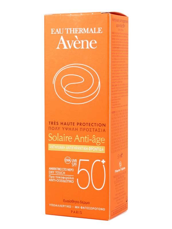 AVENE SOLAIRE ANTI AGE SPF 50+ 50 ML
