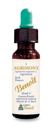 BENOIT FIORI DI BACH AGRIMONY n. 01 - 10 ML