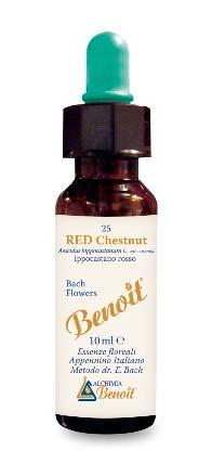 BENOIT FIORI DI BACH RED CHESTNUT n. 25 - 10 ML