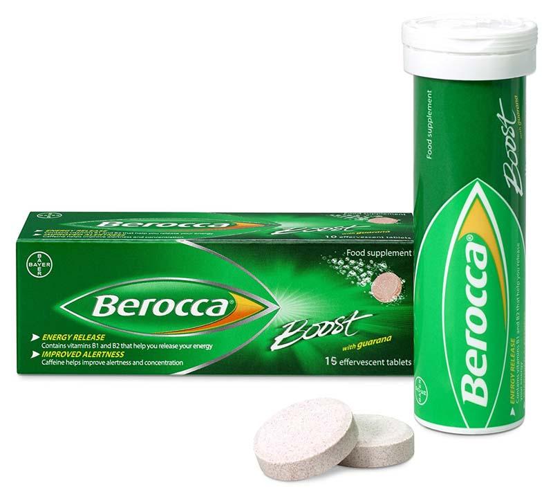 BEROCCA BOOST 15 COMPRESSE EFFERVESCENTI