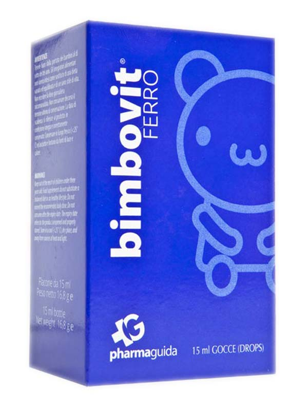BIMBOVIT FERRO GOCCE 15 ML