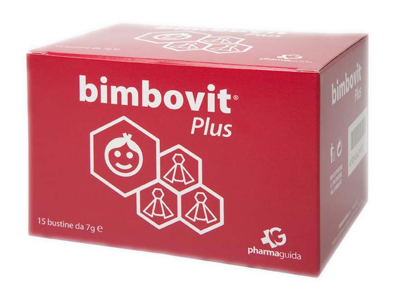 BIMBOVIT PLUS 15 BUSTINE DA 7 G