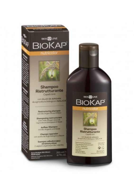 BIOKAP NUTRICOLOR SHAMPOO RISTRUTTURANTE - 200 ML