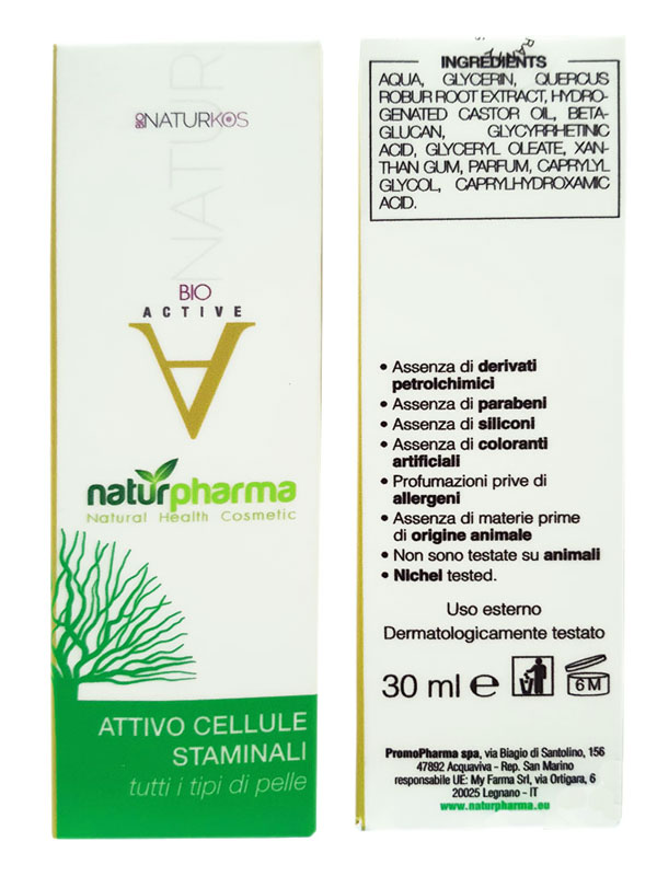 BIONATURKOS ACTIVE ATTIVO CELLULE STAMINALI 30 ML