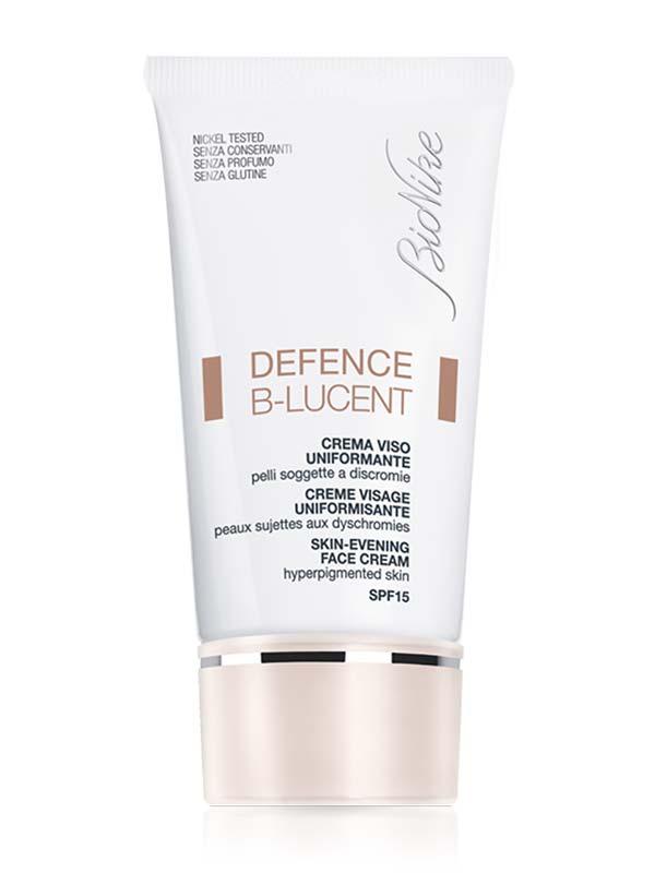BIONIKE DEFENCE B-LUCENT CREMA VISO UNIFORMANTE SPF 15 40 ML