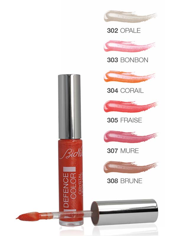 BIONIKE DEFENCE COLOR CRYSTAL LIPGLOSS N 305 FRAISE 6 ML