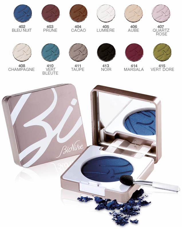 BIONIKE DEFENCE COLOR SILKY TOUCH OMBRETTO COMPATTO N 402 BLEU NUIT 3 G