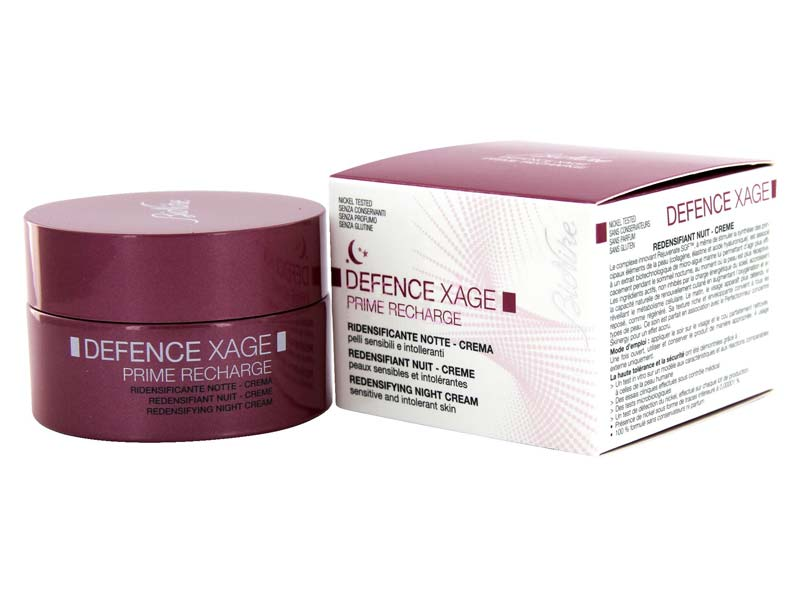 BIONIKE DEFENCE XAGE PRIME RECHARGE RIDENSIFICANTE NOTTE 50 ML