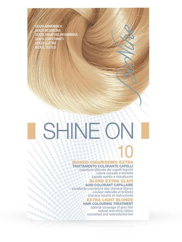 BIONIKE SHINE ON TRATTAMENTO COLORANTE PER CAPELLI 10 BIONDO CHIARISSIMO EXTRA