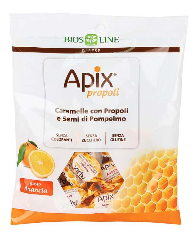 BIOS LINE APIX PROPOLI CARAMELLA GUSTO ARANCIA 50 G