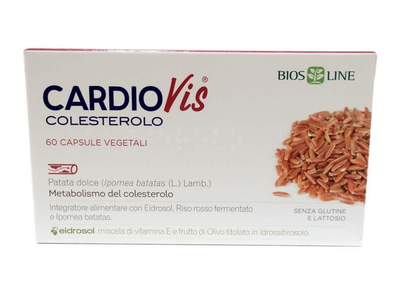 BIOS LINE CARDIOVIS COLESTEROLO 60 CAPSULE