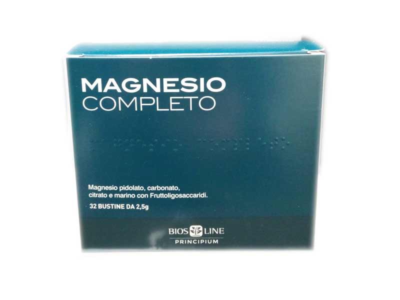 BIOS LINE PRINCIPIUM MAGNESIO COMPLETO - 32 BUSTINE DA 2,5 G