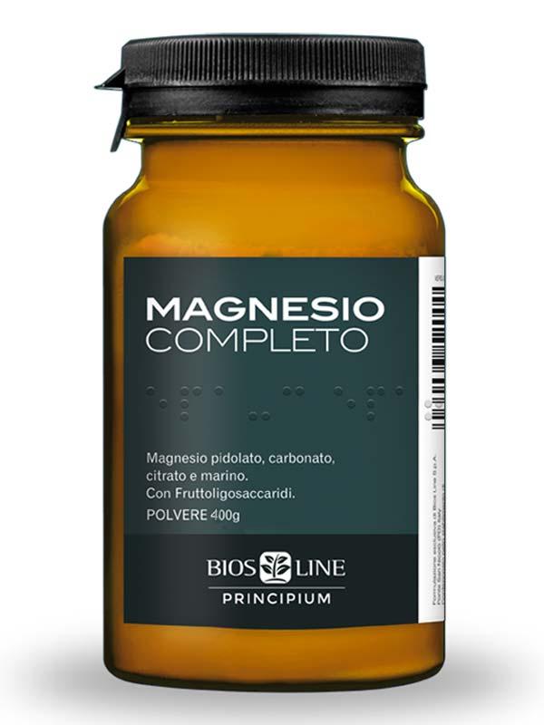 BIOS LINE PRINCIPIUM MAGNESIO COMPLETO IN POLVERE 400 G