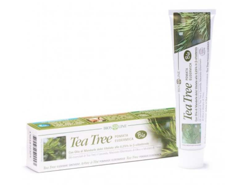 BIOS LINE TEA TREE POMATA EUDERMICA BIO 50 ML