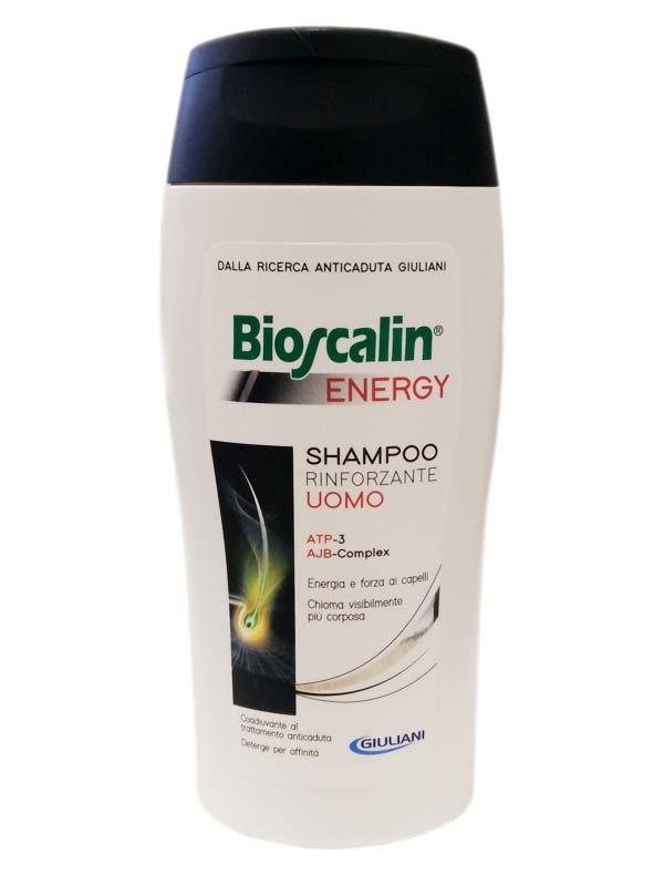 BIOSCALIN ENERGY SHAMPOO RINFORZANTE UOMO 200 ML