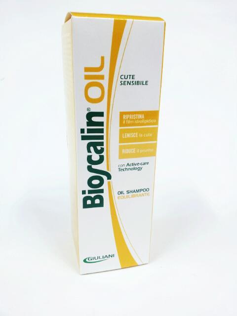 BIOSCALIN OIL SHAMPOO EQUILIBRANTE CUTE SENSIBILE - 200 ML