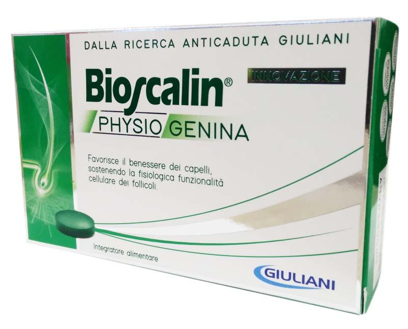 BIOSCALIN PHYSIOGENINA 30 COMPRESSE