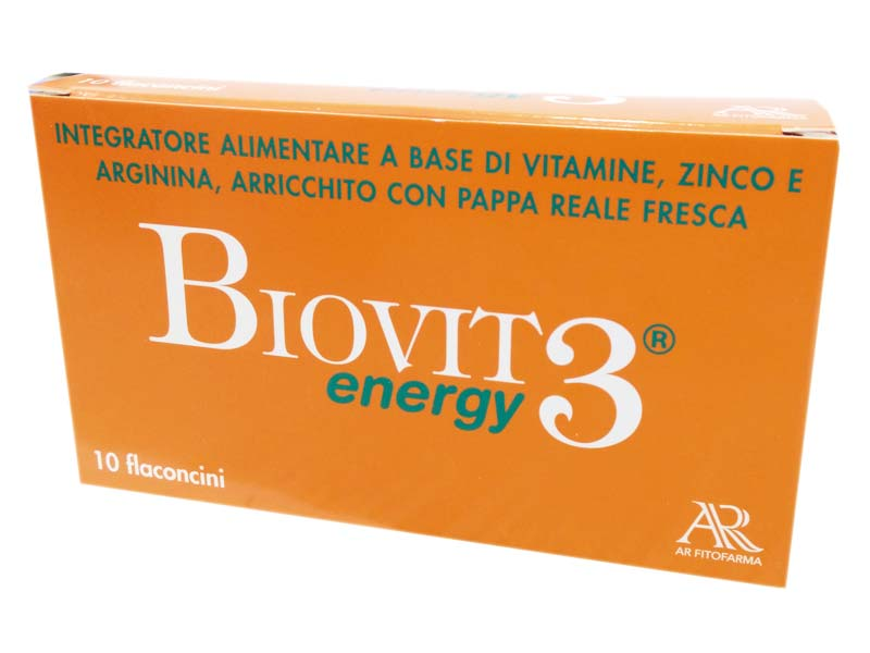 BIOVIT 3 ENERGY 10 FLACONCINI DA 10 ML