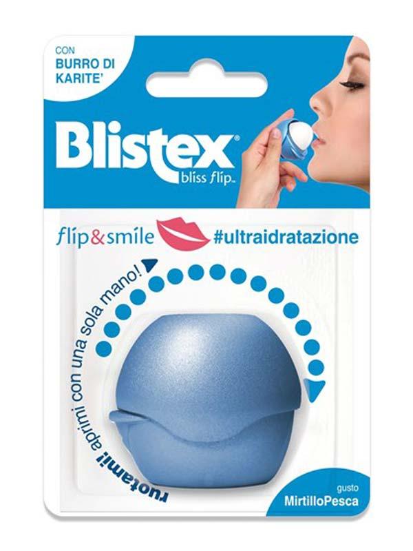 BLISTEX FLIP AND SMILE ULTRA IDRATAZIONE GUSTO MIRTILLO PESCA 7 G