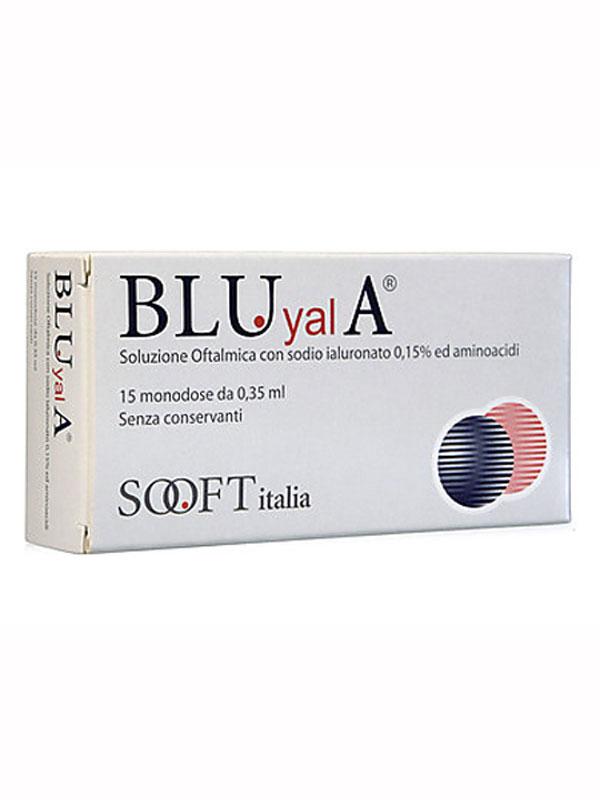 BLU YAL A SOLUZIONE OFTALMICA 15 FLACONCINI MONODOSE DA 0,35 ML