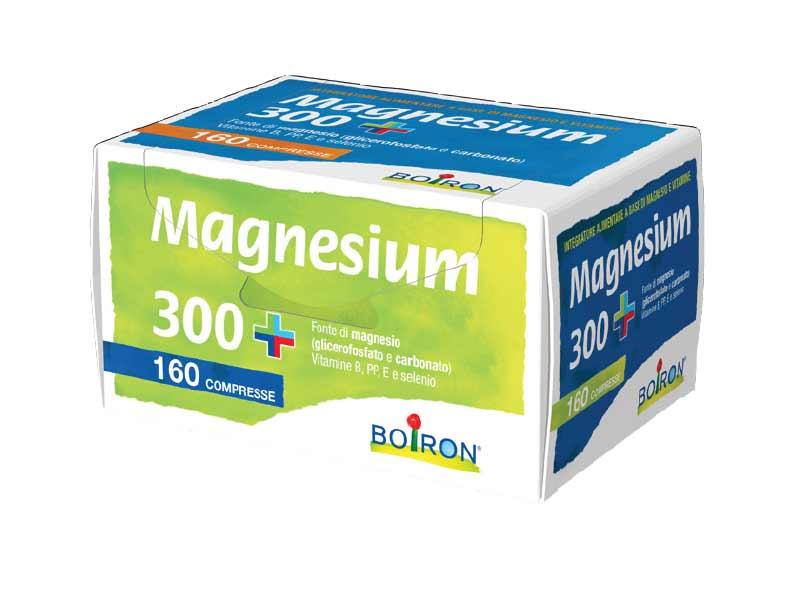 BOIRON MAGNESIUM 300 PLUS 160 COMPRESSE