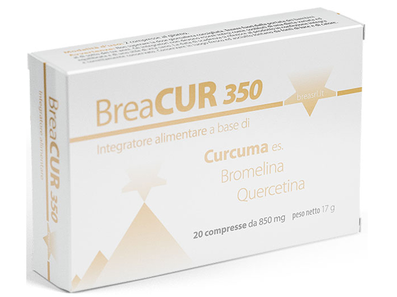 BREACUR 350 20 COMPRESSE DA 850 MG
