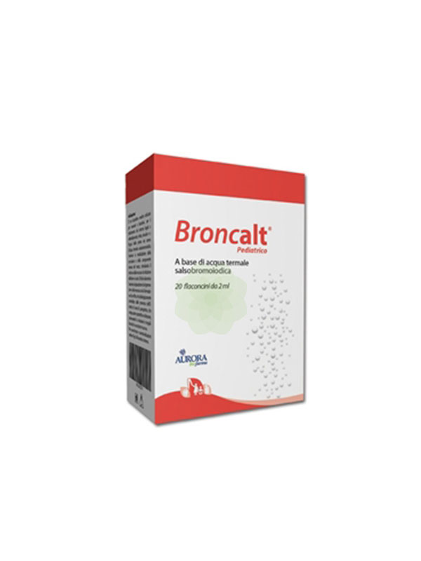 BRONCALT STRIP PEDIATRICO SOLUZIONE IRRIGAZIONE NASALE 20 FLACONCINI DA 2 ML