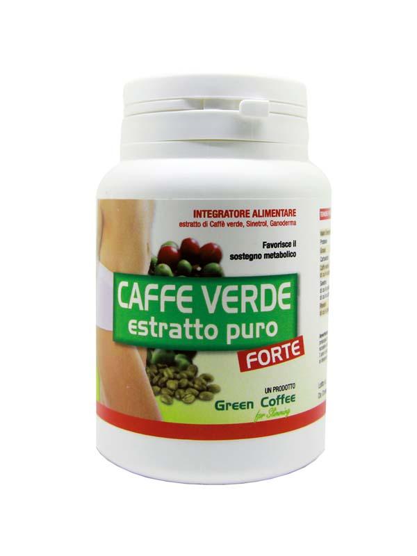 CAFFE VERDE ESTRATTO PURO FORTE 60 CAPSULE DA 590 MG