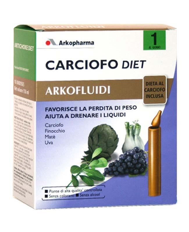 CARCIOFO DIET ARKOFLUIDI 10 FLACONCINI