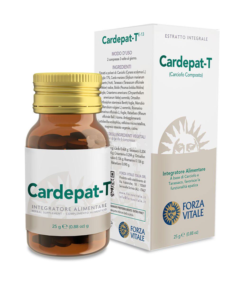 CARDEPAT T CARCIOFO COMPOSTO 60 COMPRESSE