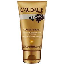 CAUDALIE SOLEIL DIVIN SOIN SOLAIRE VISAGE ANTI AGE - TRATTAMENTO SOLARE VISO ANTIETA' SPF 30 - 40 ML