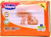 CHICCO VESTE ASCIUTTO 2 - PANNOLINI MINI 3-6 KG - 25 PEZZI