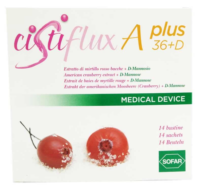 CISTIFLUX A PLUS 36+D 14 BUSTINE DA 5 G