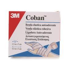 COBAN BENDA ELASTICA AUTOADERENTE - 5 x 230 CM