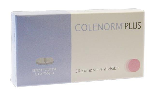 COLENORM PLUS INTEGRATORE ALIMENTARE PER IL CONTROLLO DEL COLESTEROLO PLASMATICO - 30 COMPRESSE