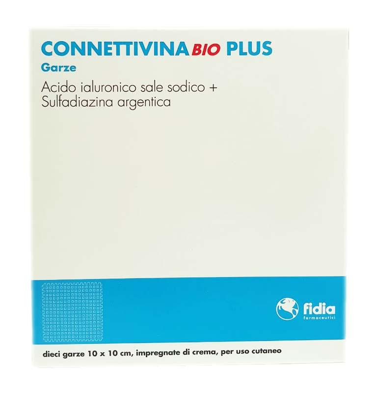 CONNETTIVINA BIO PLUS 10 GARZE DA 10x10 CM