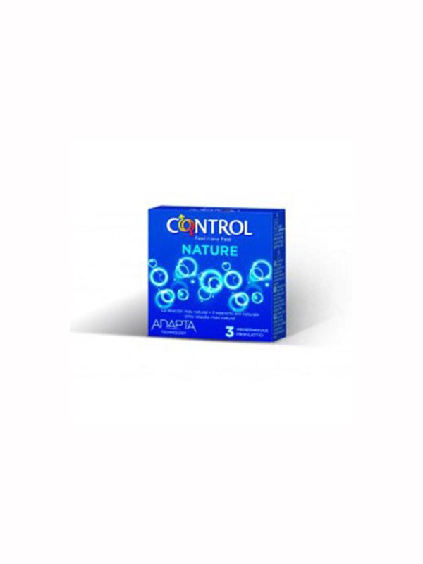 CONTROL NATURE PROFILATTICI 3 PEZZI
