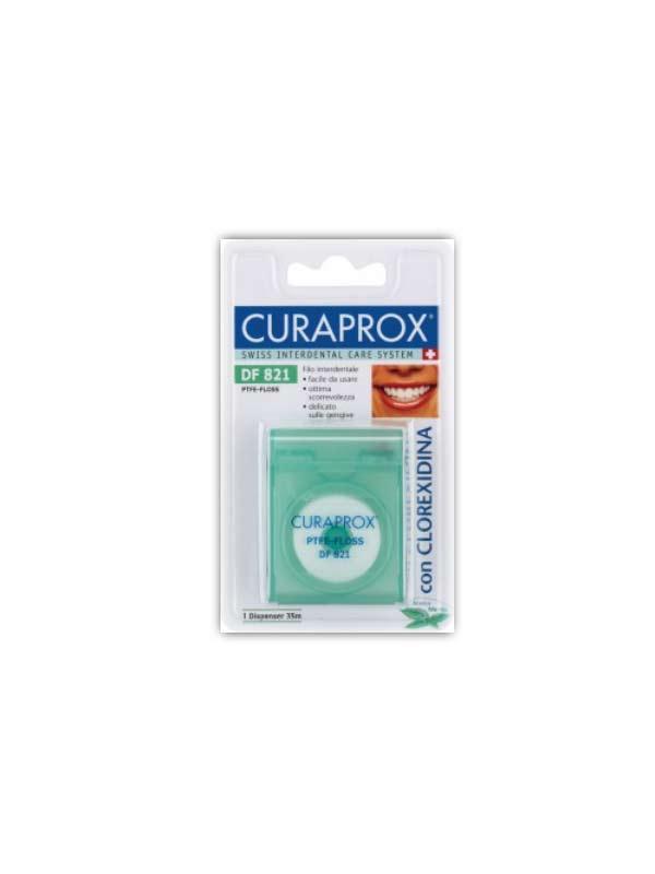 CURAPROX FILO INTERDENTALE DF 821 CON CLOREXIDINA - 35 M