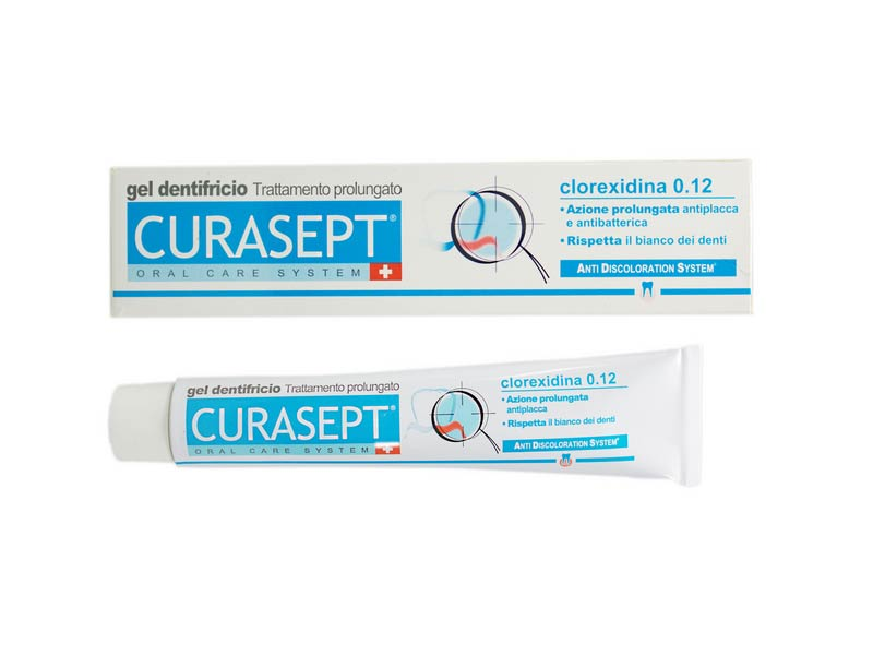 CURASEPT DENTIFRICIO GEL ADS 0,12 TRATTAMENTO PROLUNGATO - 75 ML